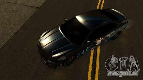Dodge Charger RT 2015 Sword Art pour GTA San Andreas vue de côté