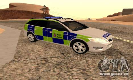 Ford Mondeo Kent Polizei für GTA San Andreas zurück linke Ansicht
