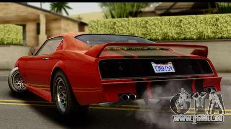 GTA 5 Imponte Phoenix für GTA San Andreas linke Ansicht