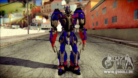 Optimus Prime Skin from Transformers für GTA San Andreas