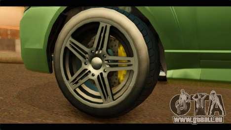 GTA 5 Bollokan Prairie pour GTA San Andreas sur la vue arrière gauche