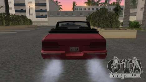 Premier Cabrio pour GTA San Andreas sur la vue arrière gauche