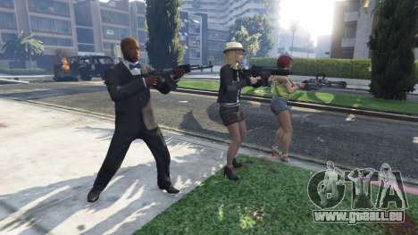 Bodyguard Menu v1.5 pour GTA 5