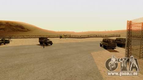 DLC 3.0 Militaire mise à jour pour GTA San Andreas septième écran