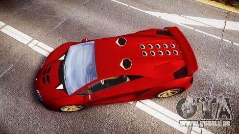 GTA V Pegassi Zentorno für GTA 4 rechte Ansicht