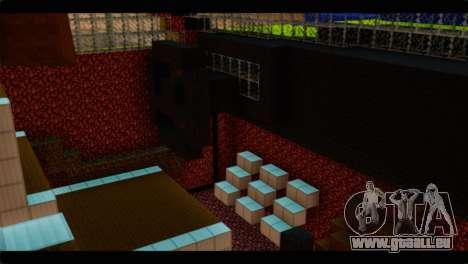 Minecraft Elegant pour GTA San Andreas vue de droite