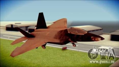 F-22 Raptor G1 Starscream für GTA San Andreas