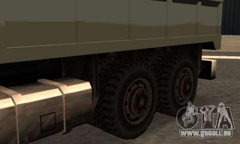 Flatbed Fixed pour GTA San Andreas laissé vue