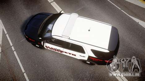 Ford Explorer 2011 Elizabeth Police [ELS] v2 für GTA 4 rechte Ansicht