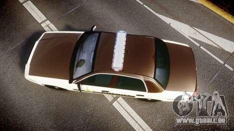 Ford Crown Victoria Liberty Sheriff [ELS] für GTA 4 rechte Ansicht
