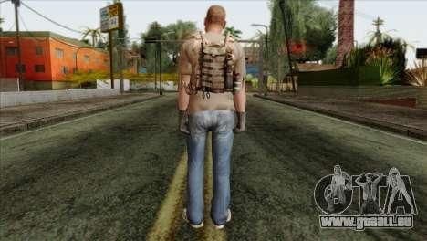 Officer from PMC pour GTA San Andreas deuxième écran