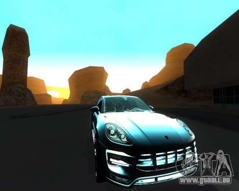 Porsche Macan Turbo für GTA San Andreas Innen