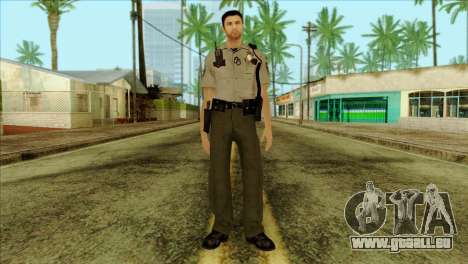 Depurty Alex Shepherd Skin pour GTA San Andreas