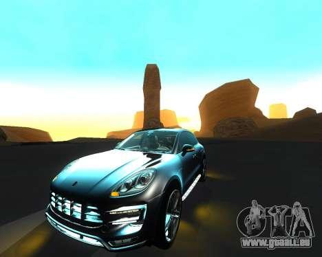 Porsche Macan Turbo pour GTA San Andreas moteur