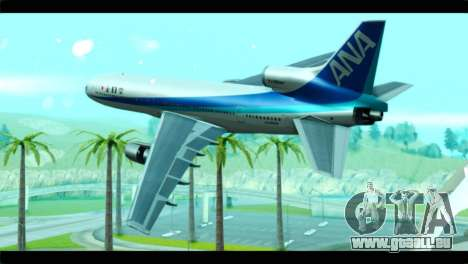 Lookheed L-1011 ANA für GTA San Andreas linke Ansicht