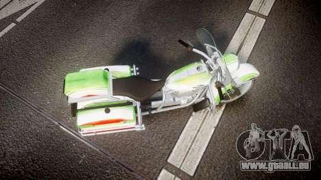 GTA V Western Motorcycle Company Sovereign IRN für GTA 4 rechte Ansicht