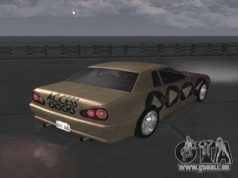Elegy Paintjobs pour GTA San Andreas laissé vue