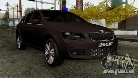 Skoda Octavia Police für GTA San Andreas