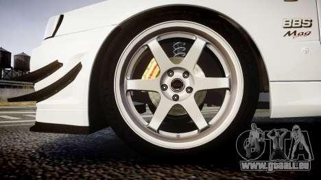 Nissan Skyline R34 GT-R Mines für GTA 4 Rückansicht