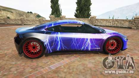 Dinka Jester (Racecar) Lightning PJ pour GTA 5