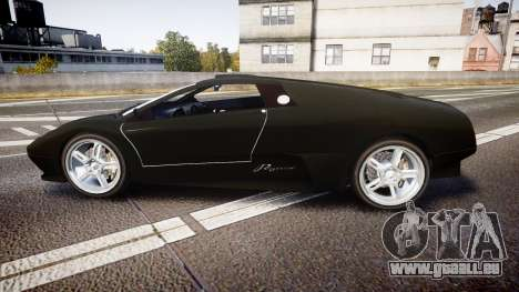 Pegassi Infernus Full Carbon für GTA 4 linke Ansicht