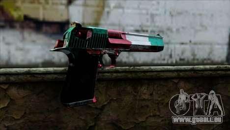 Desert Eagle Italia für GTA San Andreas zweiten Screenshot