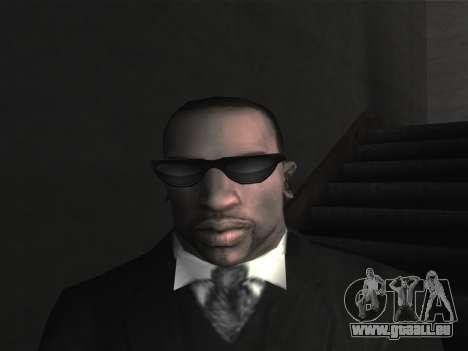 De nouvelles lunettes pour CJ pour GTA San Andreas cinquième écran