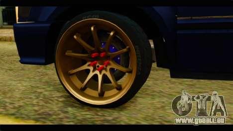 Isuzu Dragon pour GTA San Andreas sur la vue arrière gauche