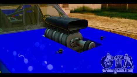 Chevy Nova NOS DRAG pour GTA San Andreas vue arrière