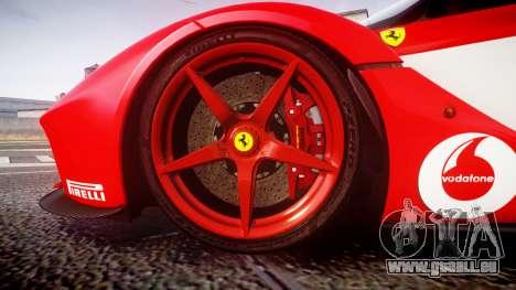 Ferrari LaFerrari 2013 HQ [EPM] PJ3 für GTA 4 Rückansicht