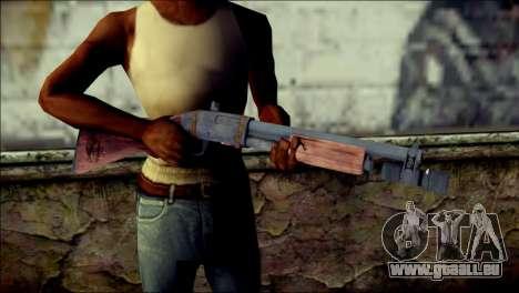 Rumble 6 Chromegun für GTA San Andreas dritten Screenshot