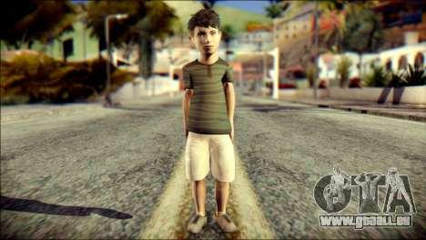 Dante Brother Child Skin pour GTA San Andreas