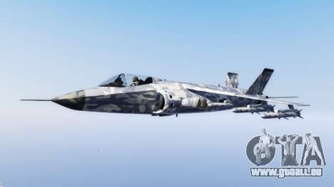 Hydra light blue camouflage pour GTA 5