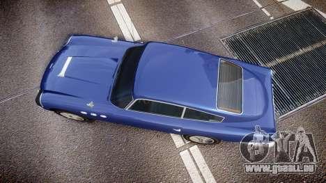 GTA V Dewbauchee JB 700 für GTA 4 rechte Ansicht