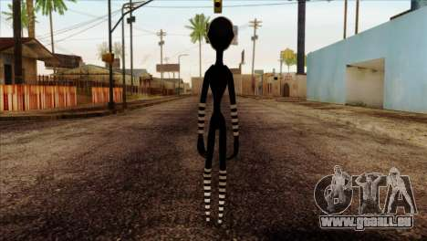 Puppet from Five Nights at Freddy 2 für GTA San Andreas zweiten Screenshot
