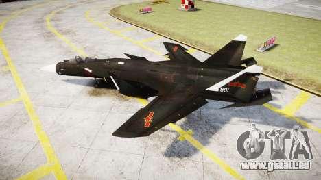 Su-47 Berkut pour GTA 4 est une gauche