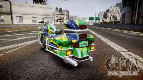 GTA V Western Motorcycle Company Sovereign BRA für GTA 4 hinten links Ansicht