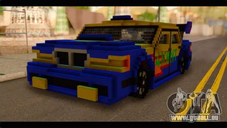 Minecraft Elegant pour GTA San Andreas