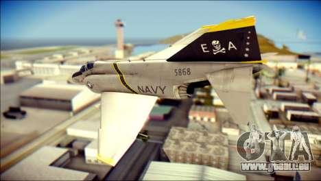 McDonnell Douglas F-4B Phantom II pour GTA San Andreas laissé vue