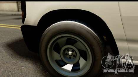 GTA 5 Rumpo pour GTA San Andreas sur la vue arrière gauche