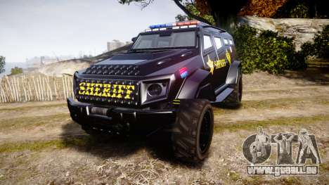 GTA V HVY Insurgent Pick-Up SWAT [ELS] pour GTA 4