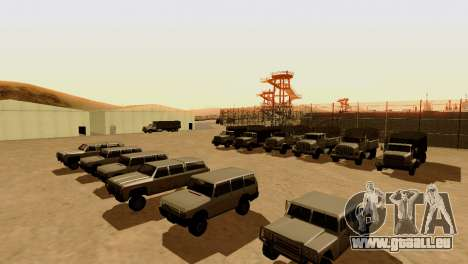 DLC 3.0 Militaire mise à jour pour GTA San Andreas cinquième écran