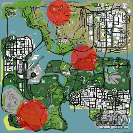DLC 3.0 Militär-update für GTA San Andreas dritten Screenshot