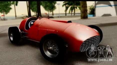Ferrari 375 F1 für GTA San Andreas