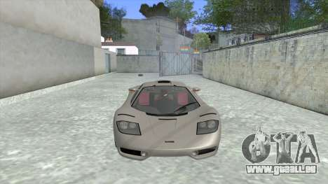 1992 McLaren F1 Clinic Model Custom Tunable v1.0 für GTA San Andreas linke Ansicht