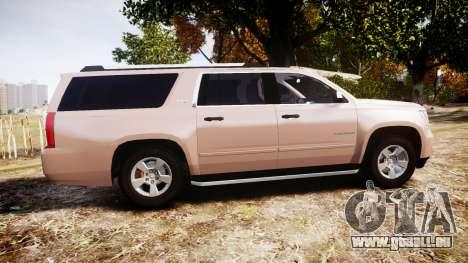 Chevrolet Suburban LTZ 2015 pour GTA 4 est une gauche