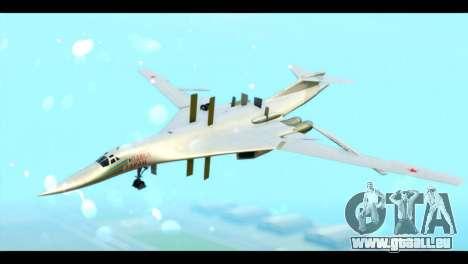 TU-160 Blackjack pour GTA San Andreas