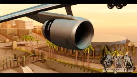 Lookheed L-1011 Air Canada pour GTA San Andreas vue de droite