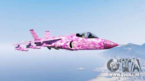 Hydra pink urban camouflage für GTA 5