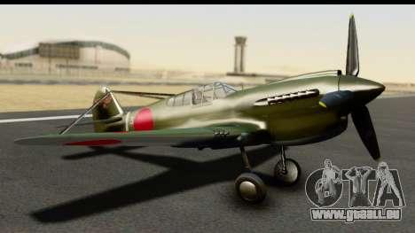 P-40E Kittyhawk IJAAF pour GTA San Andreas